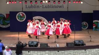 """Tańce górali spiskich - Koncert ZPiT Lublin"""" Lublin-Lublinowi"""" 22.06.2014"""