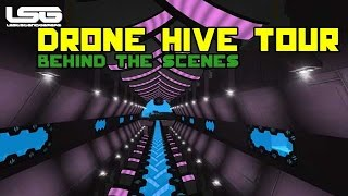 Space Engineers - Drone Hive Tour (BTS)