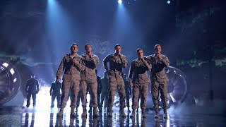 America's Got Talent 2017 In The Stairwell Performance & Comments Live Shows S12E13
