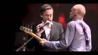 Robert Downey Jr  sings Driven to Tears with Sting