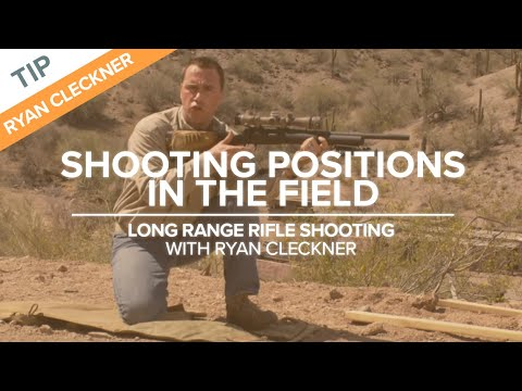 Shooting Positions in the Field - Rifle Shooting Technique - NSSF Shooting Sportscast