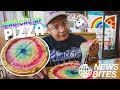 RAINBOW GLITTER ON PIZZA? | News Bites