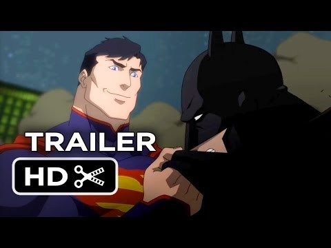 Justice League: War Official DVD Release Trailer #1 (2013) - Superhero Movie HD