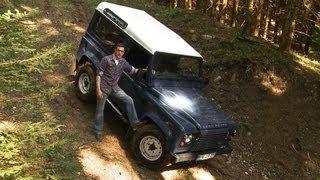 Extrem-Test am Steilhang - Land Rover Defender 90