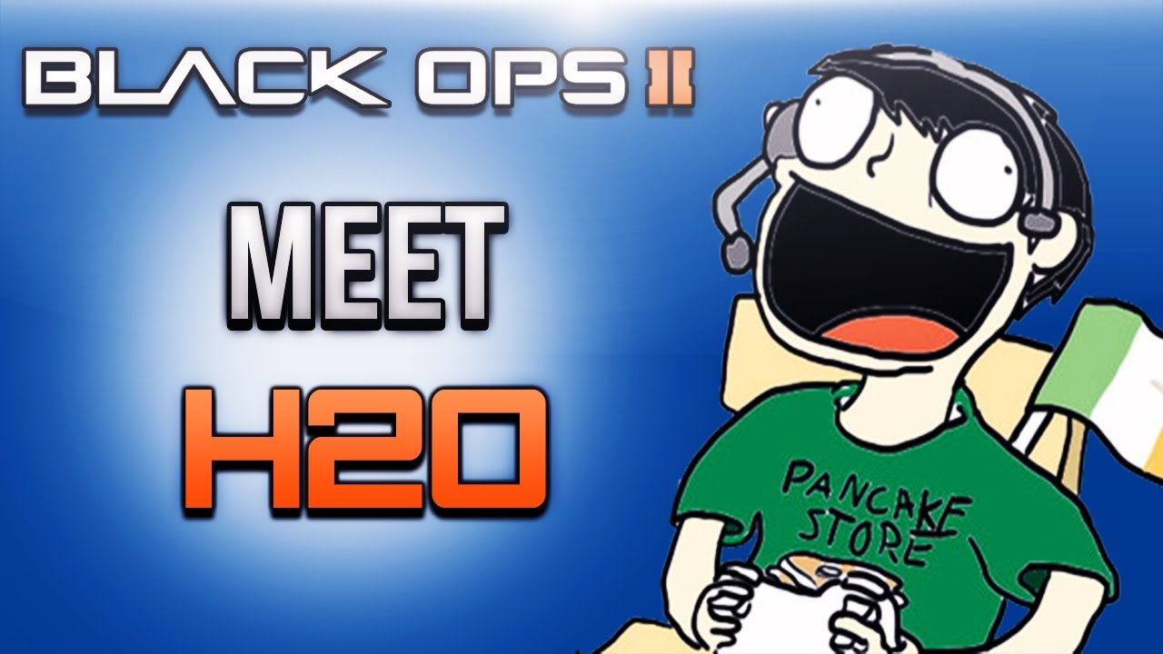 Black Ops 2 Meet H2O  By   H20 Delirious Face