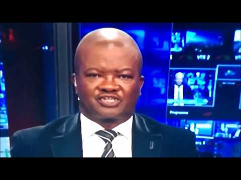Bantu Holomisa Fumbles News on TV #Fish