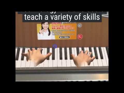 Виртуальный учитель игры на пианино