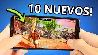 TOP 10 Mejores JUEGOS NUEVOS para Android - ONLINE Y OFFLINE SIN INTERNET