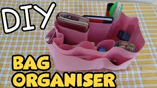 DIY Bag Organizer | Purse Organizer