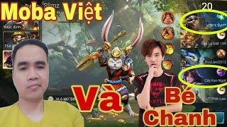 Liên Quân | Sẽ Ra Sao Khi Moba Việt Và Bé Chanh ( Fake ) Cùng Trong Một Trận Đấu - Cái Kết 6 Phút GG