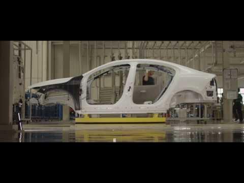 Сборочная линия автомобилей Volvo