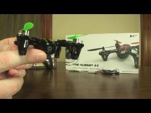 Hubsan X4 V2 with SD Camera (H107C) - Review and Flight