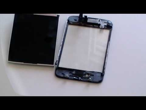 iPhone 3G Touch Screen Glass Digitizer Replacement Repair Take Apart Install Guide