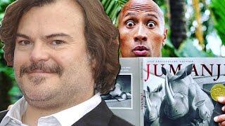 Jumanji Reboot Adds Jack Black & Kevin Hart