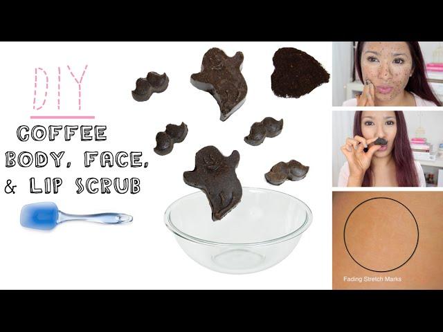 My Face,Lips, & Body Coffee Scrub   Reduce Cellulite & Stretch Marks