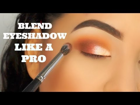 How To Blend/Apply Your Eyeshadow Like A Pro ! Tips, Demo, For Beginners