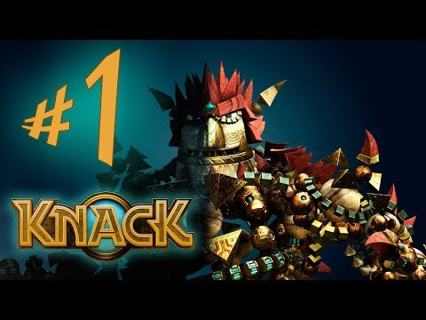 Knack - Parte 1: Humanos Vs Goblins! [ Playstation 4 - Playthrough em PT-BR ]