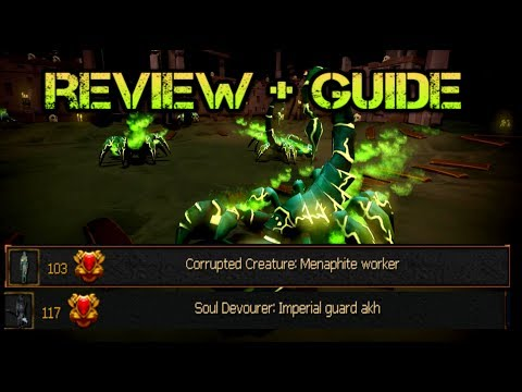 Menaphos Slayer Monsters Review+ guide - Corrupted Creaters/Soul Devourer Tasks [ runescape 2017]