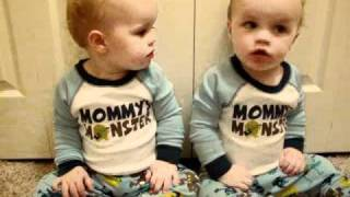 Twin Boys Talk and do Sign Language! (Rayden and Axten)