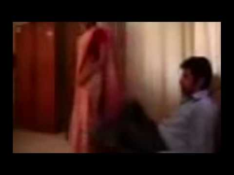 Hot Bhojpuri Actress Mona Lisa's Co-star Touches Hot Video Hd video