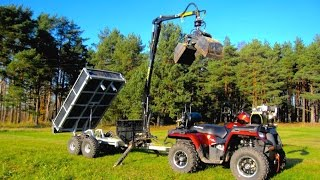 Vahva Jussi 320 Tipping box and bucket demo