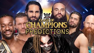 WWE CLASH OF CHAMPIONS 2019 PREDICTIONS