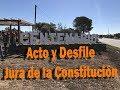Acto Jura de la Constitución en Pueblo Centenario