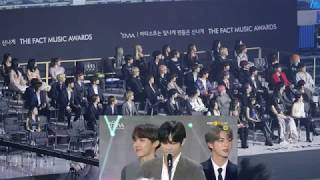 IDOLS React to BTS 방탄소년단 DAESANG SPEECH TMA @THE FACT MUSIC AWARDS 2019