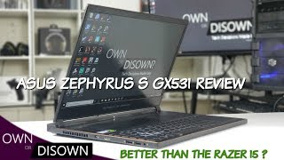 Asus Zephyrus S GX531 Review - Cooler & Faster Than The Razer 15 ?