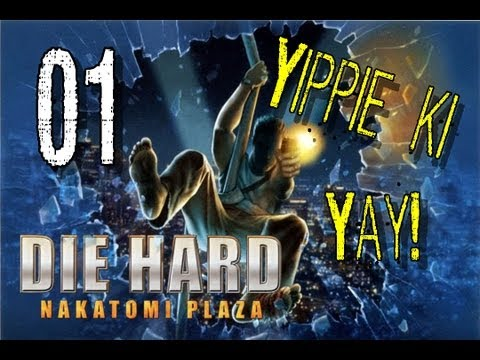 Let's Play Die Hard: Nakatomi Plaza| Part 01 Terrorists!