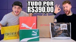 Gastei R$390,00 na OUTLET e comprei o LOOK COMPLETO (feat. Coloral MachoModa)