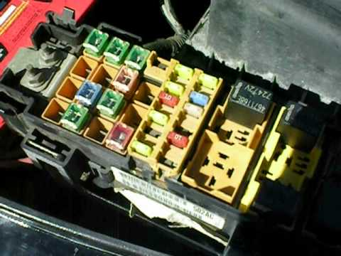 2006 jeep commander fuse diagram    jeep    tj won t start part 1 youtube     jeep    tj won t start part 1 youtube