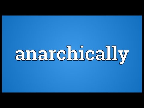 Header of anarchically
