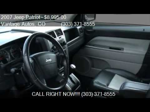 2007 Jeep Patriot Limited 4WD 4dr SUV for sale in Denver, CO