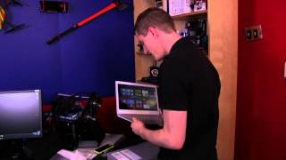 Acer Aspire S7 13.3 Gorilla Glass Notebook Unboxing & First Look Linus Tech Tips