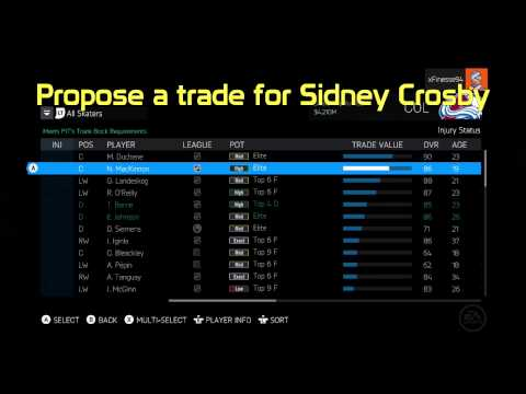 """NHL 15 """"Superstar"""" Achievement/Trophy Guide (Be A GM Mode Gameplay)"""