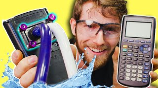 Water Cooling a TI-84 Graphing Calculator!