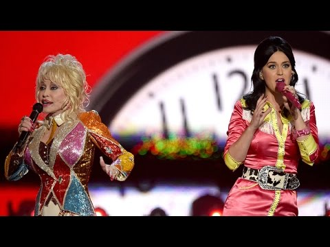WATCH: Katy Perry Performs Dolly Parton's Biggest Hits With Her  at the ACM Awards