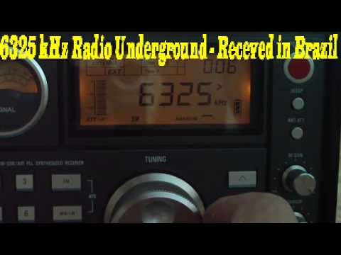 6325 kHz ( UPDATED ) is Radio Mustang receved in Brazil