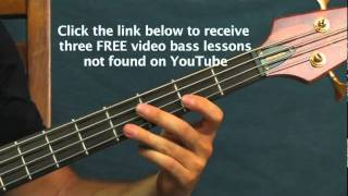 beginner bass guitar lesson billie jean michael jackson billy