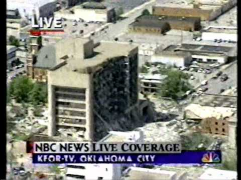 Oklahoma City Bombing Live Coverage 1995