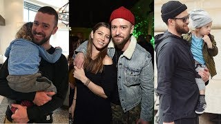 Download Lagu Justin Timberlake's Family - 2018 {Wife Jessica Biel & Son Silas Randall Timberlake} Gratis STAFABAND