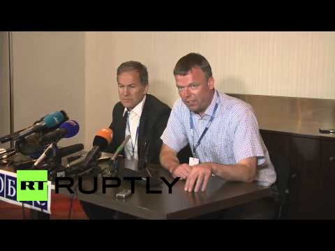 Ukraine: OSCE mission confirms MH17 bodies in train at Torez