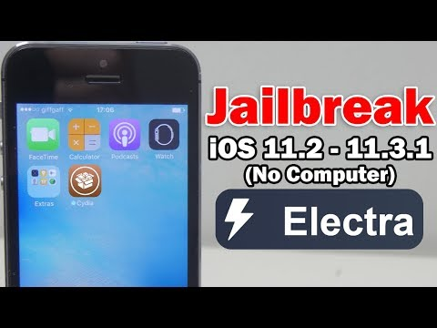 How to Jailbreak iOS 11.2 - 11.3.1 Using Electra Without Computer on iPhone, iPod touch & iPad