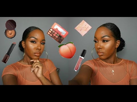 Peachy Summer Vibes  First Impressions Chit Chat Tutorial + Mini Reviews