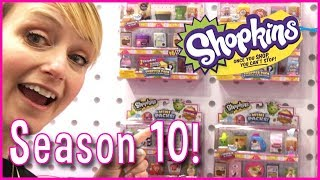 Shopkins Season 10 First Unboxing and New Pikmi Pops PushMi Ups