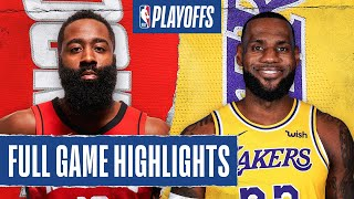 ROCKETS at LAKERS | FULL GAME HIGHLIGHTS | September 4, 2020