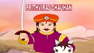 Prithviraj Chauhan | Animated Movie For Kids in Hindi