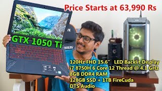Best Gaming Laptop starting 64,000 Rs? Asus TUF Gaming FX504 Review