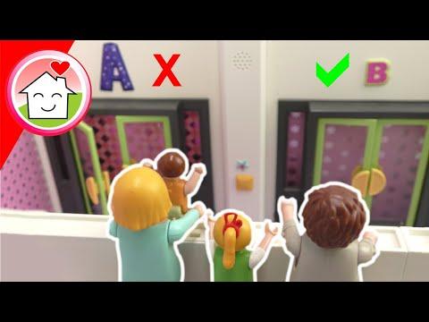 Playmobil Film Familie Hauser - Mystery Parcour - Was verbirgt sich hinter der Tür?